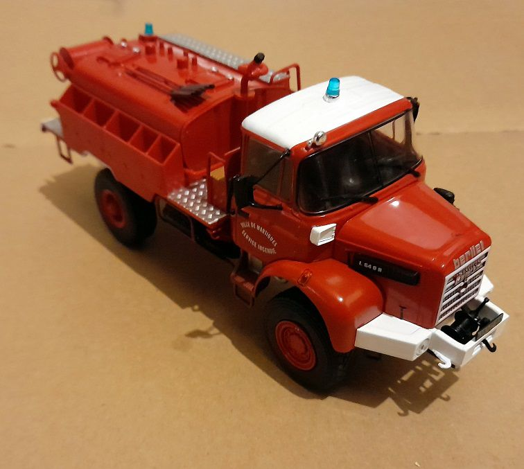 Berliet L 64 8R CCFL au 1:43 (Hachette-Collections)