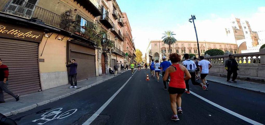 Videosintesi con le foto fornite dall'Ufficio Stampa che danno un'idea di punti diversi del percorso di gara
