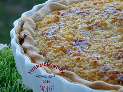 TARTE AUX POMMES EXPRESS (thermomix)