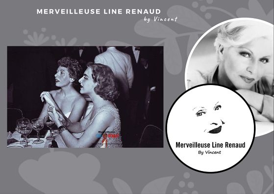PHOTOS: Line Renaud et Patachou - 1953