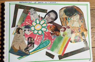 Collages de confinée