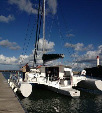 La trimaran Neel 45 nominé pour le prix du bateau de l'année aux Etats-Unis