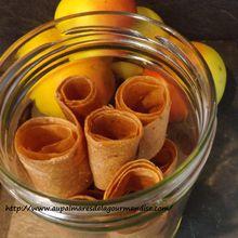 Cuir de pommes   IG Bas,    WW®         (Vegan, Healthy Sans sucre ajouté)