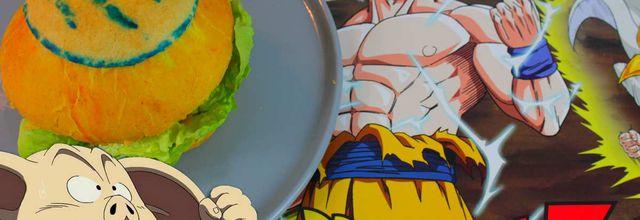 Recette de Geek #12 : Le Burger à base de Oolong dans Dragon Ball Z !