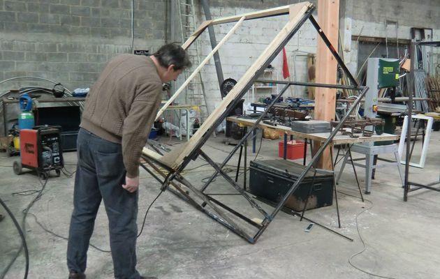 Création de la scénographie de Fra.K. Infusion, au Grand Atelier à Tournai