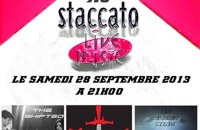 On Cloud Nine (groupe) present sur scéne staccato Nice le 28/09/2013