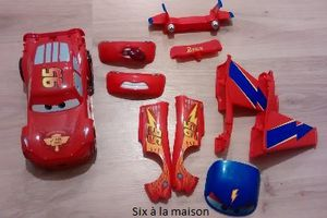 Cars : Flash McQuenn transformable