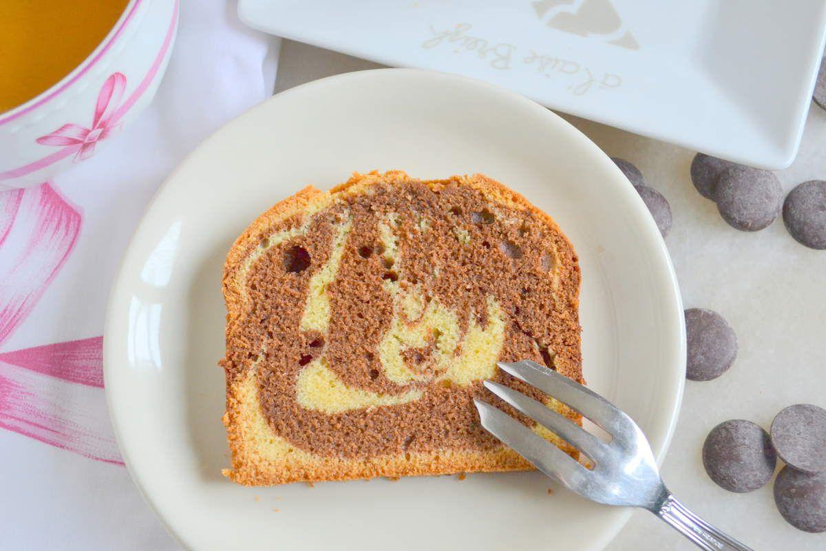 Gâteau marbré hyper moelleux