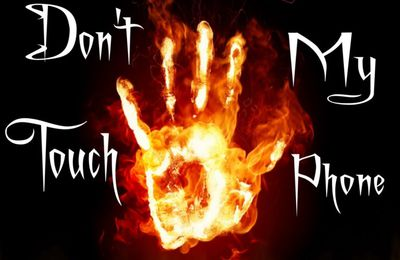 Don't touch my phone - Fond d'écran - Picture - Free