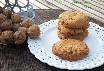 Cookies spéculoos et noix