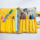 School Supplies Tote Free Pattern - Life Sew Savory