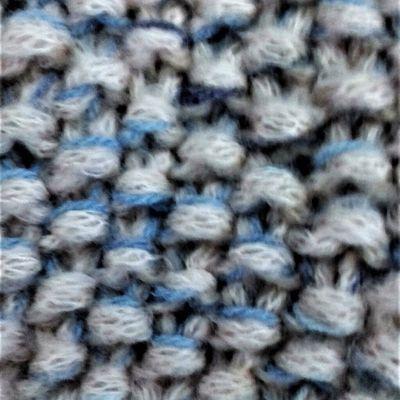 Paletot baby tweed laine tricot fait main bébé fille taille 3 mois @ jarakymini
