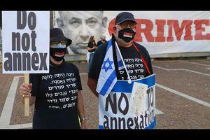 Des milliers d'Israéliens ont manifesté samedi à Tel Aviv contre le projet du gouvernement d'annexer des pans de Cisjordanie occupée! Du jamais vu,  enfin une prise de conscience des peuples ?