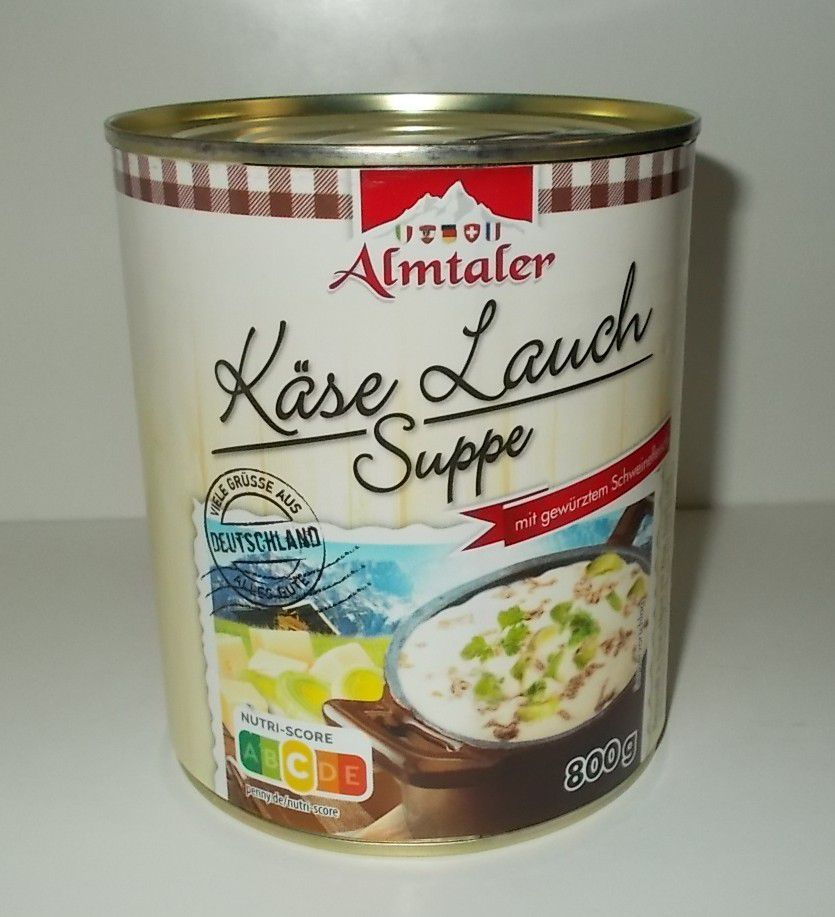 Penny Almtaler Käse Lauch Suppe