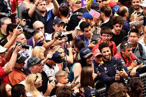 La F1 fait gagner des pass pour le Paddock Club