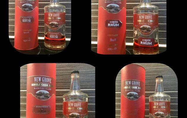 Welcome to New Grove Selection ( 2009 Salon du Rhum / 2007 Confrérie du Rhum / 2009 The Nectar / 2007 LMDW )