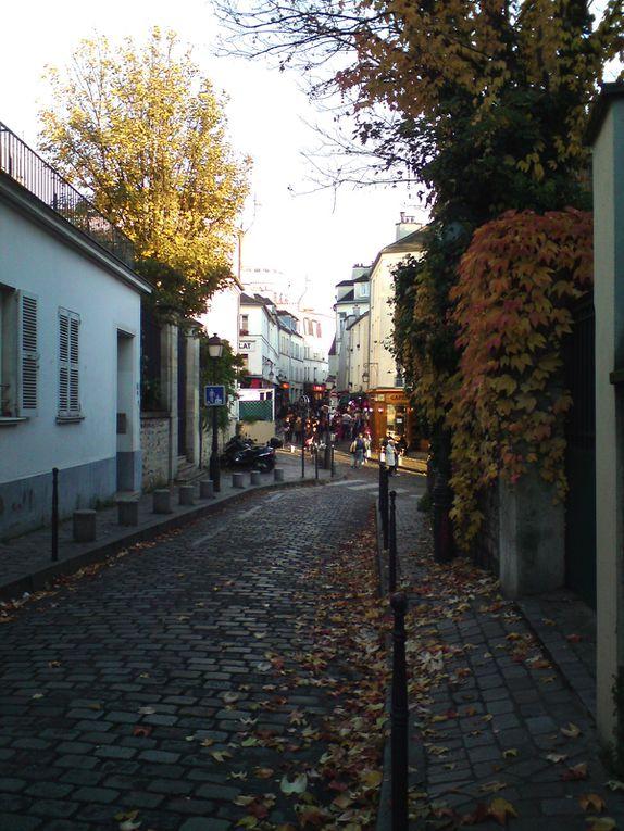 Soleil à Montmartre fin octobre
