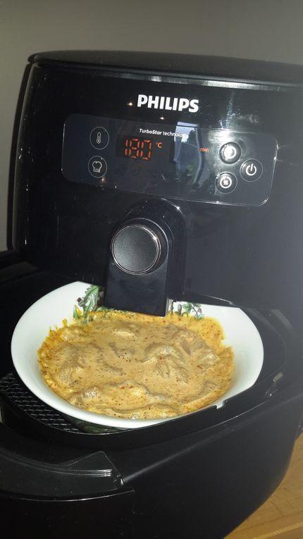 Poulet au saté et lait de coco (au companion ou autre robot)