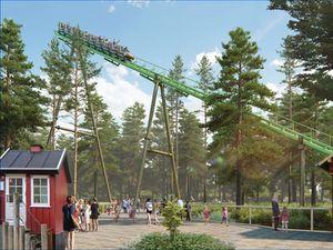 Fårup Sommerland continue d'investir avec un nouveau grand huit