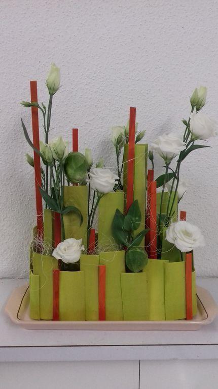 2eme compo en rose et vert