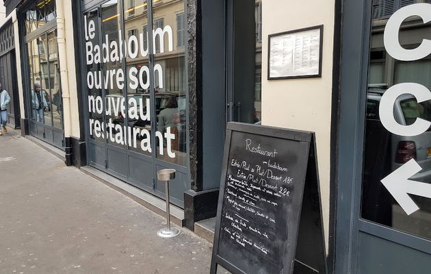 Badaboum (Paris 11) : Version restaurant épatant !