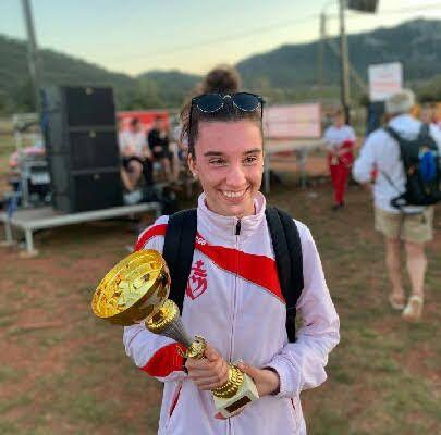 Mathilde PELLOQUIN championne de France pompier