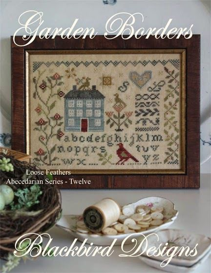 Garden Borders. Blackbird Designs. Abecedarian Series nº 12