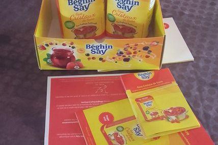 """Test Béghin Say """"Gros Cristaux de sucre pour confiture"""""""