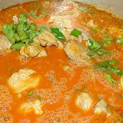 Sauté de veau aux Olives et Chorizo
