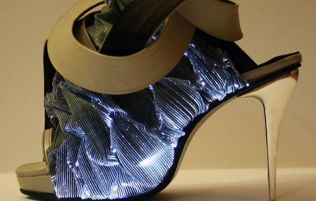 Les escarpins lumineux, signés Francesca Castagnacci
