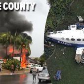 Un avion se crashe sur une maison en Californie: cinq morts