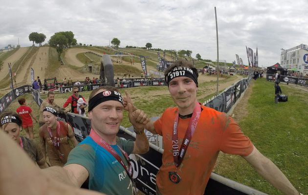 L'équipe 300-Run'heure à la Spartan Race Atlantique Sprint du 7 Mai 2016