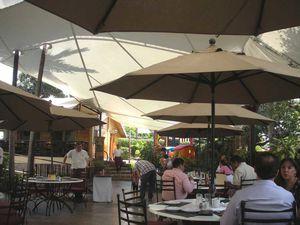 Les repas au jardin dans les restaurants de Cuernavaca