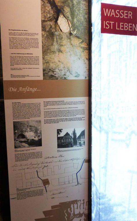 """Im kleinen Museumsraum werden die Themen """"Die Anfänge"""", """"Der Fortschritt"""", """"Zeller Brunnen"""" in den Bereichen Oberzell, Mittelzell und Unterzell thematisch behandelt."""