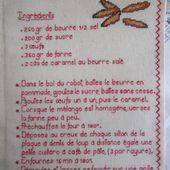 Livre Recettes Brodées de Mamigoz : Dents de loup So Breizh - Chez Mamigoz