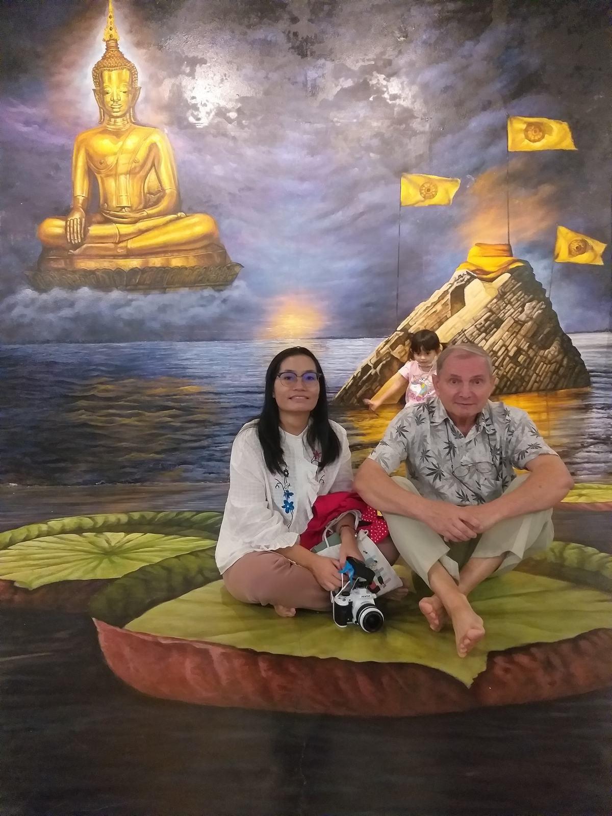 6 décembre 2020 : Visite de la « maison 3 D » de Nong Khai