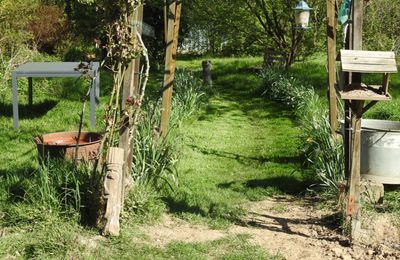 Un p'tit air de propre au jardin ;-)