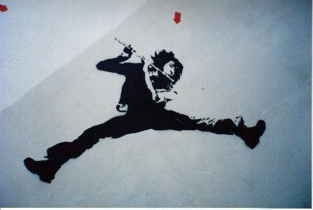 Il se murmure que léZarts de la rue envahissent nos murs pour le plaisir des yeux