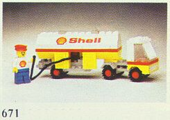 671 Shell Fuel Pumper / Camion citerne Shell