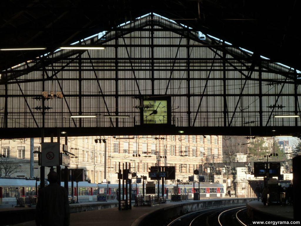 Gare Saint Lazare / Martine Martin