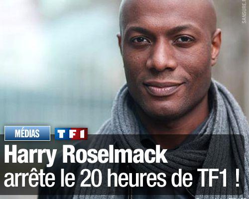 Harry Roselmack arrête le 20 heures de TF1 !
