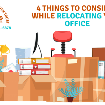 4 Things To Consider When You Are Relocating Your Office