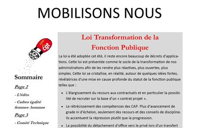 Journal N°5: URGENCES SOCIALES. MOBILISONS NOUS!