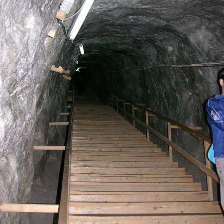 Mine de sel de Praid, Roumanie en camping-car