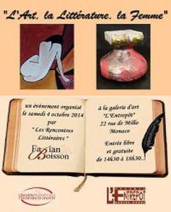 Monaco - L'ENTREPÔT : L'Art, la Littérature, la Femme / Carlo Meluccio «I Colori de una vita»