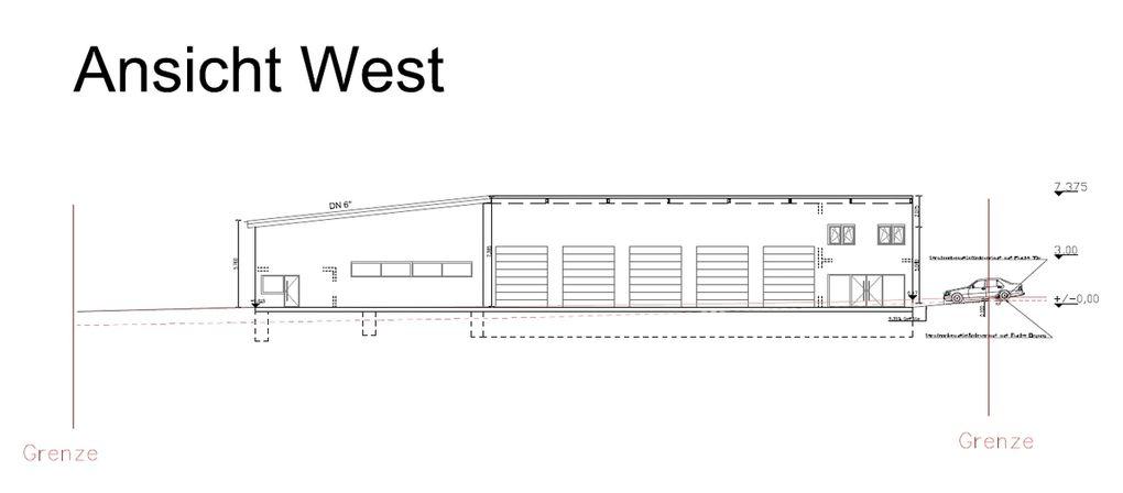 West- und Südansicht