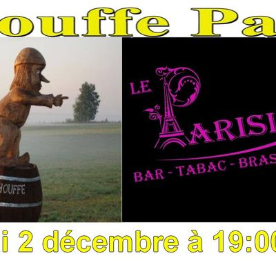 Chouffe-Party à la Brasserie Le Parisien à Maurs