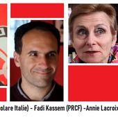 Crise du COVID-19 : Entretien croisé avec Alessio Arena (Fronte Popolare Italie), Annie Lacroix-Riz, Jean-Pierre Page et Fadi Kassem - Commun COMMUNE [le blog d'El Diablo]