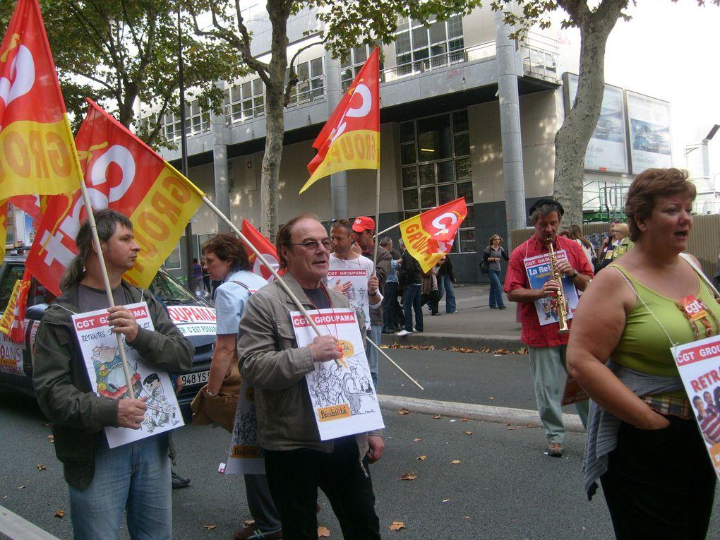 Succès de cette journée avec 300 000 manifestants dans Paris