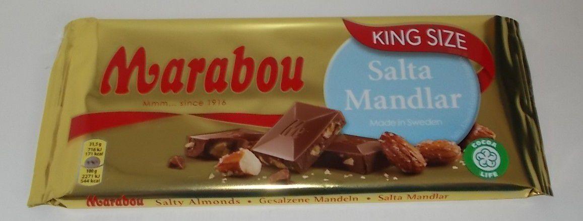Marabou Salta Mandlar King Size XXL